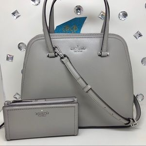 KATE♠️SPADE MEDIUM DOME SATCHEL + BRAYLON WALLET